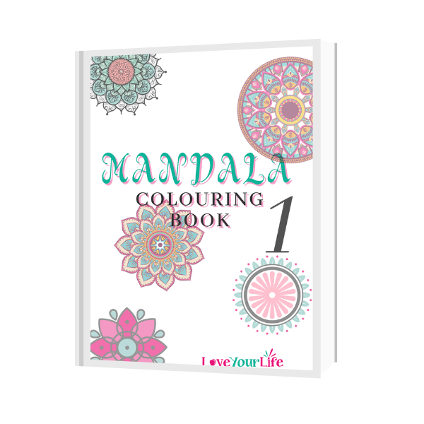 Mandala Colouring Book 1